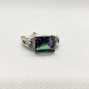 Jewelry - Mystic Topaz Sterling Silver Size 9 Ring